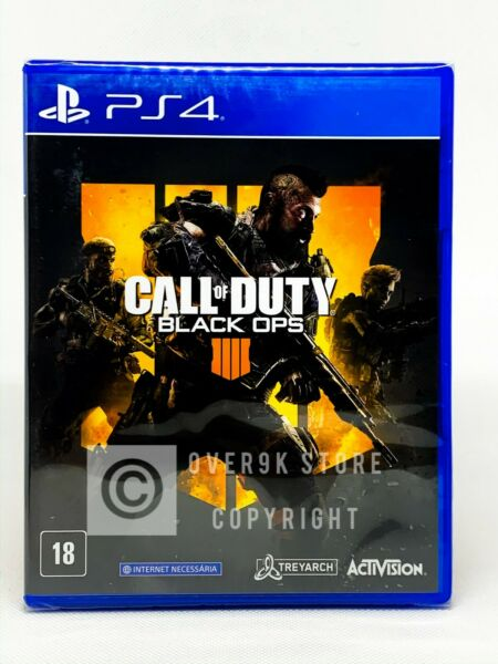 Call of Duty: Black Ops 4 - PS4 - Brand New  Region Free  Portuguese Cover