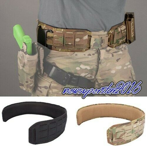 Lightweight Quick Release Tactical Waist Band Girdle with Molle For 1.75