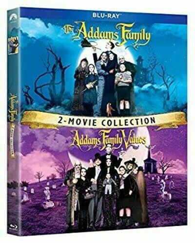 The Addams Family Addams Family Values: 2 Movie Collection New Blu