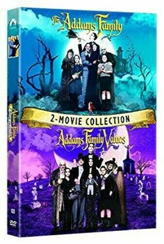 The Addams Family Addams Family Values: 2 Movie Collection New DVD