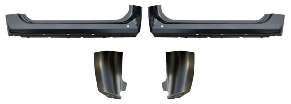 OE Style Rocker Panel Cab Corner Kit for 7-13 Silverado Sierra Standard cab PAIR