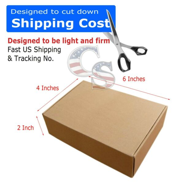 100 6 x 4 x 2 Cardboard Shipping Mailer Packing Box Boxes