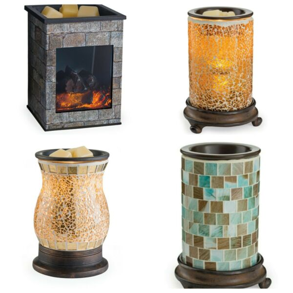 Candle Warmers Glass Illumination Wax Melter Scented Melts Tarts Oil Your Choice