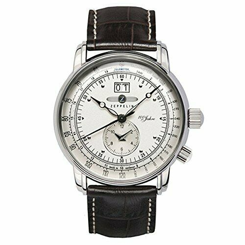 ZEPPELIN WRISTWATCHES AUTOMATIC WINDING MEN#x27;S WATCH SPECIALEDITION 100TH ANNIVER $289.95