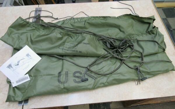 US M1966 Jungle Hammock Without Canopy Nylon 1995 Dated Vietnam Type NOS $74.95