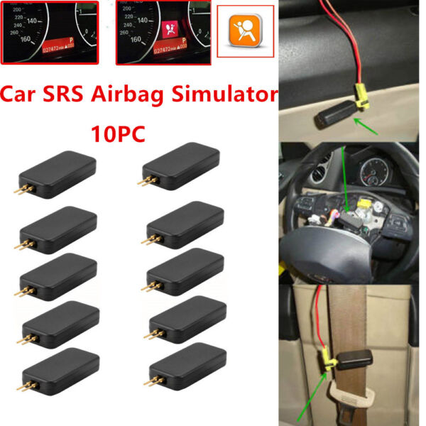 10 x Car Airbag Simulator Emulator SRS  Resistor Bypass Fault Finding Diagnostic