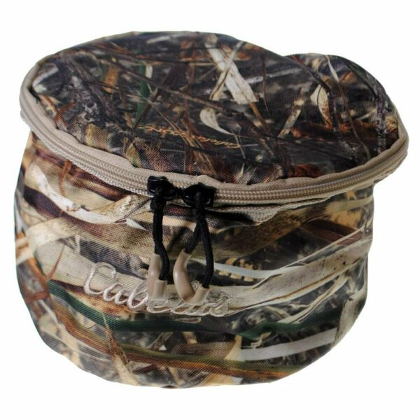 Cabela#x27;s Soft Sided Travel Dog Bowl with Lid Zonz Waterfowl Camo $7.95
