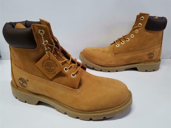 Mens Timberland 6quot; Inch Classic Basic Waterproof Insulated Boots 18094 231 Wheat $139.99