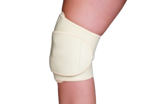 Knee Relief Wrap for Men & Women Knee Support Brace Tan Support
