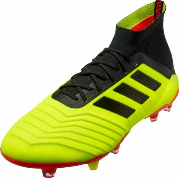 NEW MEN'S ADIDAS PREDATOR 18.1 SOCCER CLEATS ~ SIZE US 11  #DB2037 $250 RETAIL