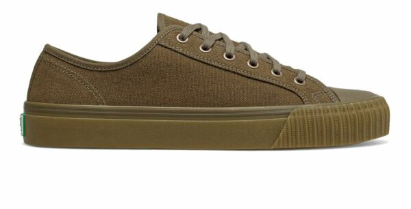 PF Flyers Center Lo Unisex Shoes Green with Tan Size