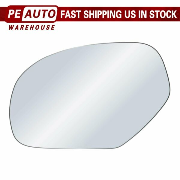 Mirror Glass Full Adhesive For 2007-2013 GMC Chevy Cadillac Left Driver Side