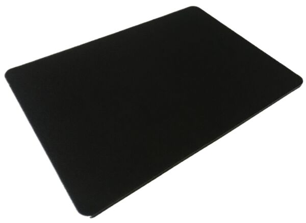 Premier Black Close-up Pad for Magic Card Coin Tricks 11x16 Non-Slip Grip Table