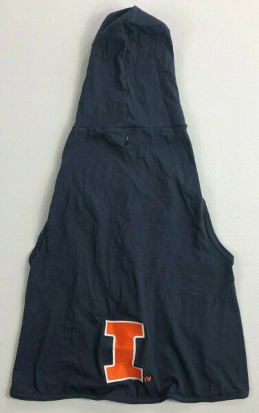 All Star Dogs Illinois Hooded Shirt Size XL NEW BJ $12.99