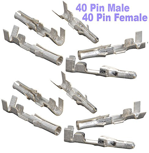 Crimp Pins AWG Male Female Electrical Wiring Industrial Computer Laboratory Set