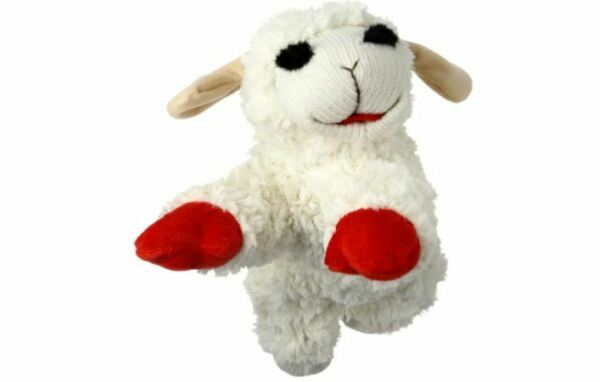 Multipet Lamb Chop Dog Toy Plush & Squeak Toys for Dogs  $10.99