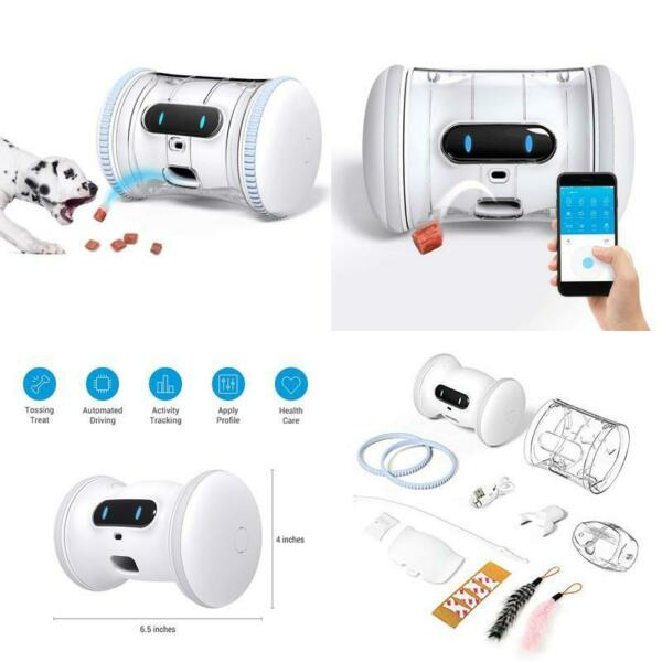 Varram Pet Fitness Robot Full Package: Treat Tossing Schedule Automatic Drives