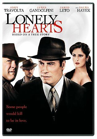 Lonely Hearts DVD Movie Salma Hayek Jared Leto John Travolta James Gandolfini
