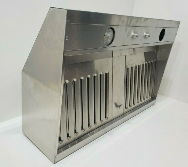 Imperial 1936PSIB 10 SS Stainless Steel 36quot; Range Hood with Single Blower