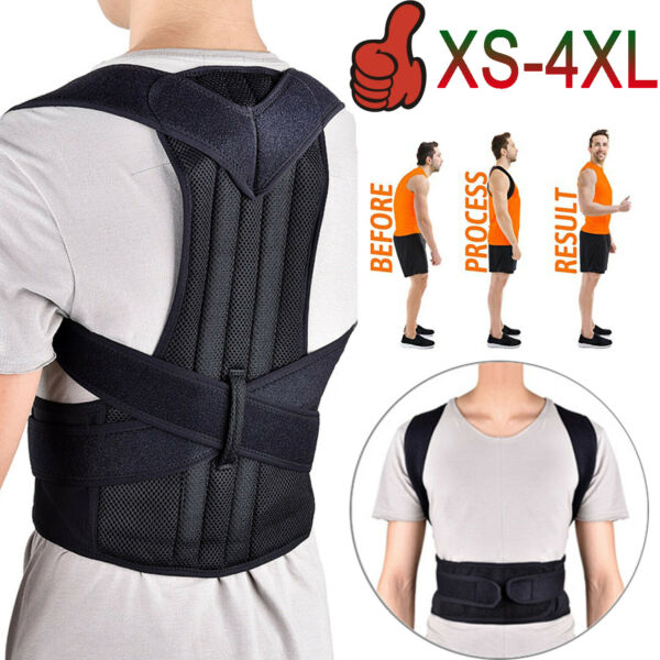 Back Posture Corrector Support Shoulder Therapy Brace Pain Relief for Men Women