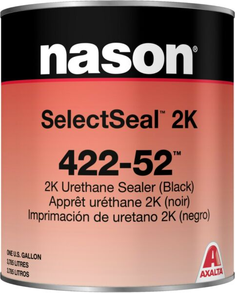 Nason 422-52 2K Black Urethane Sealer Gallon & 483-87 Mid Temp Activator