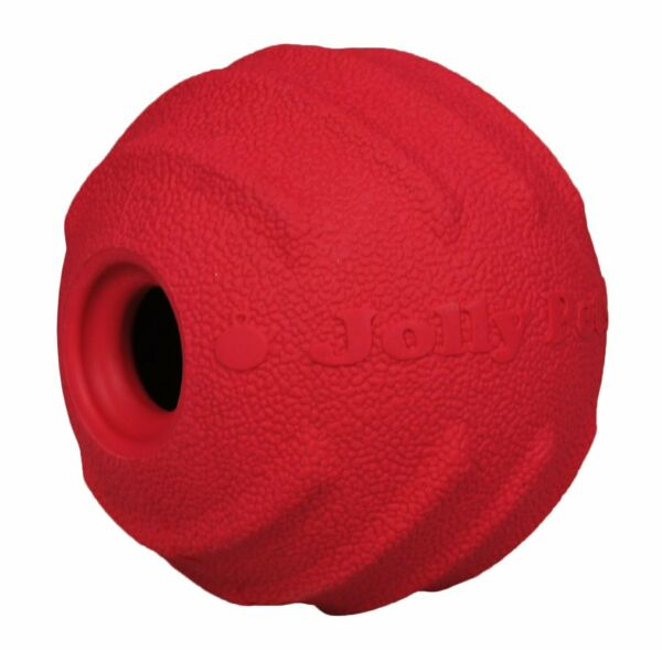 Jolly Pets Jolly Tuff Tosser Unique Rubber Durable Interactive Dog Toy 4 inch $12.37