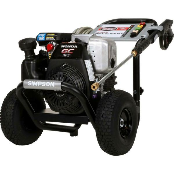 Simpson 3200 PSI 2.5 GPM Gas Pressure Washer with Honda Engine
