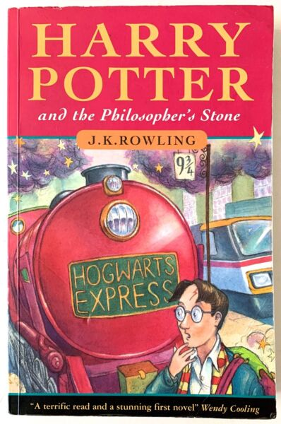 Harry Potter and the Philosopher's Stone 1997 UK 1st Edition 2nd Printing RARE