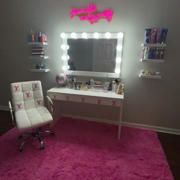 Extra Large 40x28 Hollywood Style Vanity Makeup Mirror With Lights
