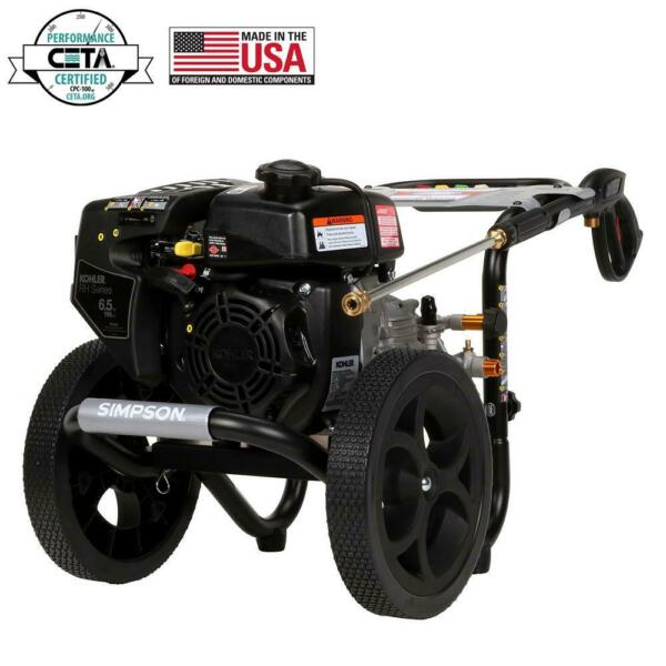 Simpson 3100 PSI 2.4 GPM Gas Pressure Washer with Kohler Engine