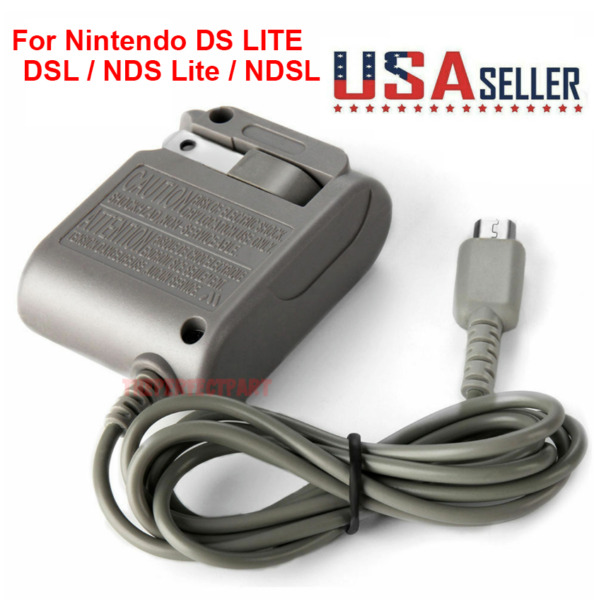 New AC Adapter Home Wall Charger Cable for Nintendo Ds Lite DSL NDS lite NDSL $3.57
