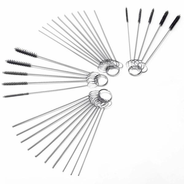Carb Carburetor Cleaner Cleaning Brushes Kit Small Wire Brush 20 Needles 10 $14.99