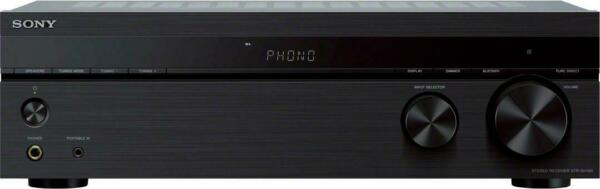 Sony 2.0 Ch. Stereo Receiver with Bluetooth Black $149.99