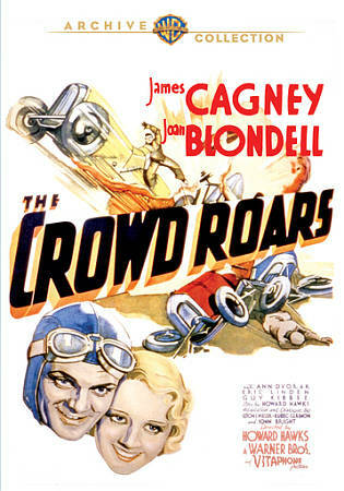 The Crowd Roars (DVD 2012)  James Cagney & Joan Blondell high speed racing
