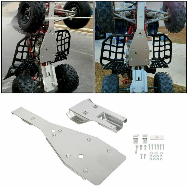 For Yamaha Raptor 700 700R Full Chassis Glide Swing Arm Skid Plate Guard Combo $132.00
