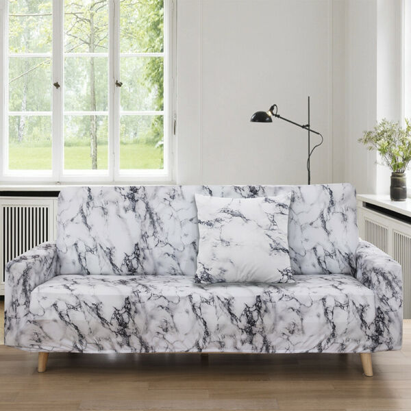 Floral Elastic 1 4 Seater Slipcover Stretch Sofa Cover Couch Protector US $33.99