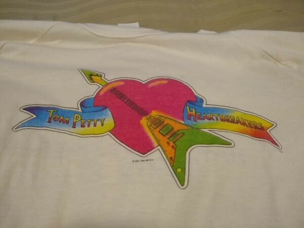 Tom Petty and the Heartbreakers Hard Promises Tour 1981 Concert T-Shirt Rare!!!!