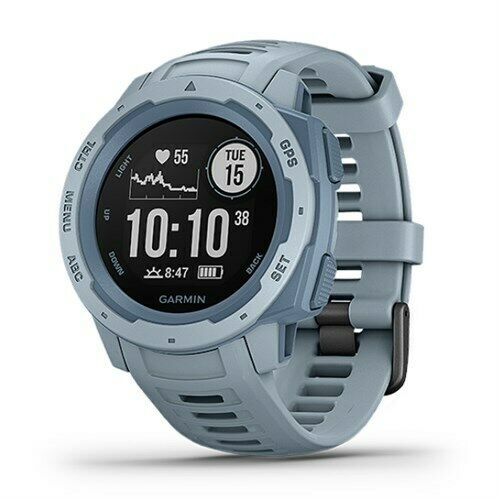 Garmin Instinct Rugged Outdoor GPS Watch (010-02064-05) - Sea Foam