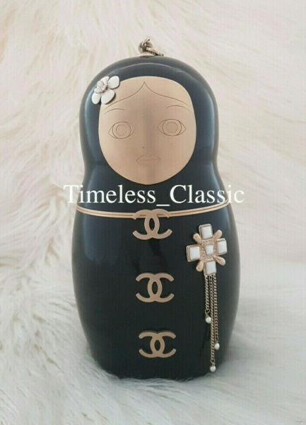 CHANEL Women's Bag MOSCOU Russian Doll Minaudiere Pre Fall 2009 Metiers d'A