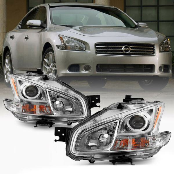 For 09 13 Nissan Maxima Halogen Model LR Projector Headlight Replacement Lamp $145.00