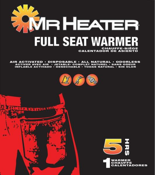 Enerco F235041 Winter Disposable Seat Warmers 1 Pack 5 Hours $11.52
