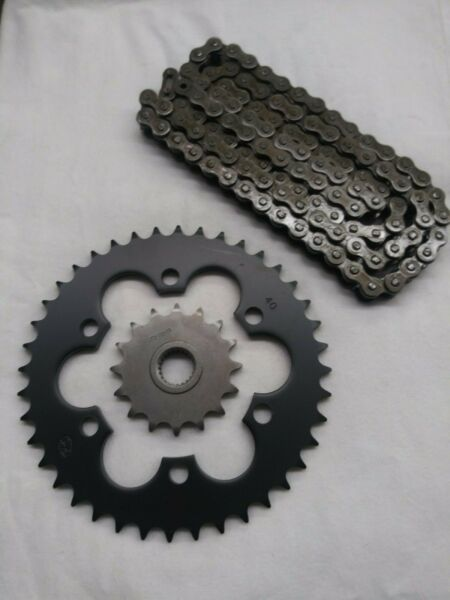 Bombardier DS650 Sprocket and & Heavy Duty Natural Chain Kit