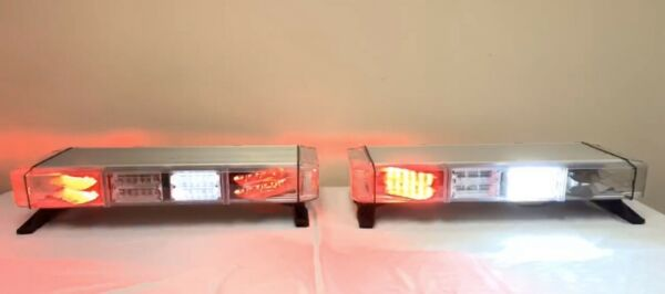 "Pair of Whelen Freedom 28"" Mini-Lightbar RedWhite - 180 Degree Warning"