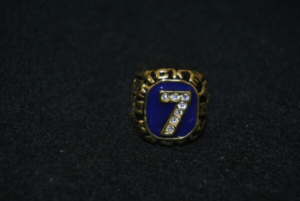 MICKEY MANTLE  NEW YORK YANKEES HALL OF FAME   RING  RING SIZE 11