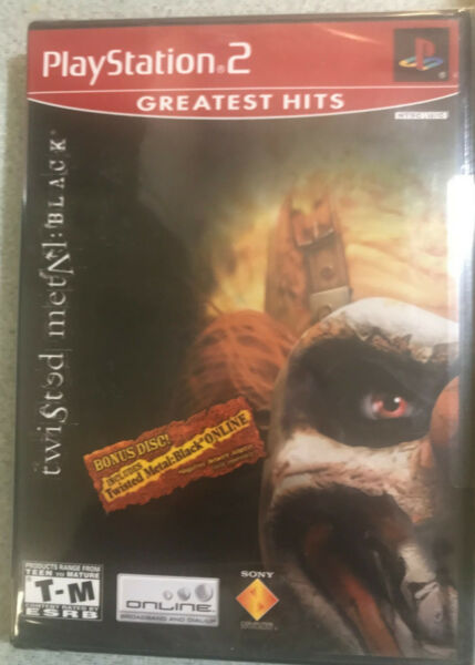 Twisted Metal: Black sony Playstation 2 ps2