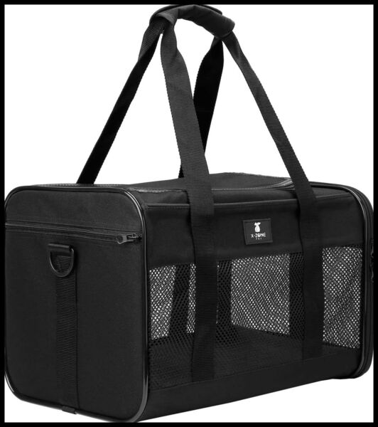 X ZONE PET Cat Carrier Dog Pet For SMALL MEDIUM Cats Dogs Puppies Of 15 Lbs Airl $30.18
