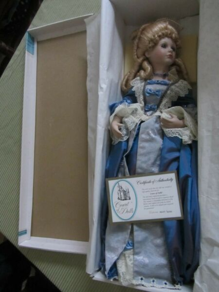"Court Of Dolls Limited Edition Porcelain Doll By Jenny  ""Victoria"" 36475000"