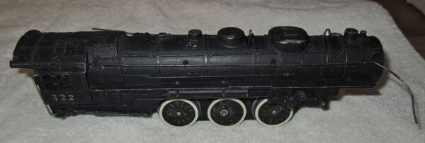 AMERICAN FLYER #322 HUDSON BOILER CHASSIS MOTOR ETCUSED SHOWS SOME WEAR $34.95
