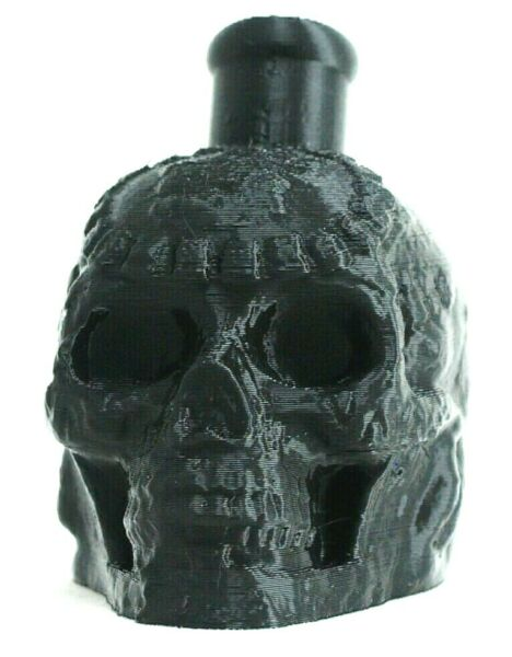 Aztec Mayan Death Whistle Onyx Black Skull *** MADE IN USA ***