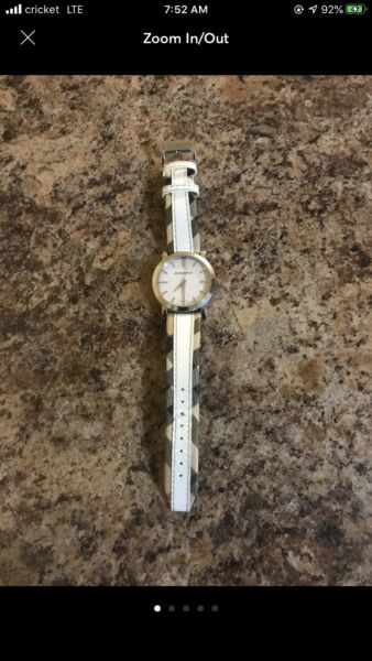 Authentic Womens Burberry Watch Preowned $85.00